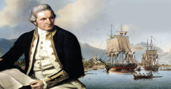 Who is Captain James Cook