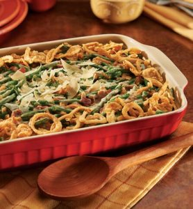 Italian Green Bean Casserole with Pancetta and Rosemary